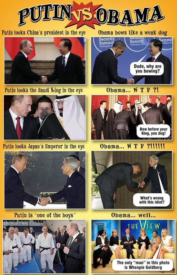 Putin vs Obama montage_01