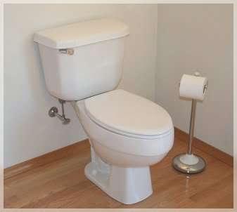 Toilet (seat down)