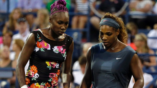 Williams Sisters looking positively scary