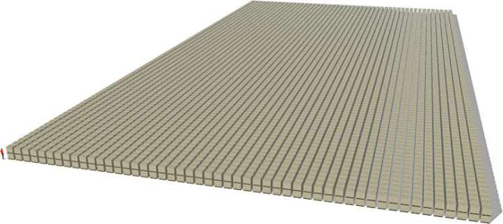 One Trillion packs of $100 bills (pallets double stacked)
