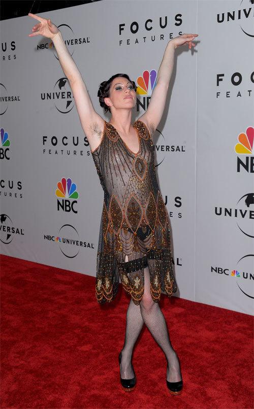 Amanda Palmer, Musician, Golden Globes, at Beverly Hilton, 17 January 2010. [Photo: Jason Merritt/Getty Images]