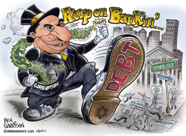 banker ben garrison anti jew cartoon loquendo laxe