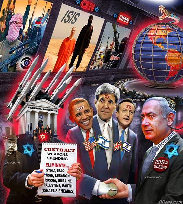 ISIS. Mossad, and Rothschilds (Q70)