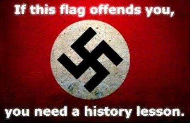 If This Flag Offends You - Then You Need A History Lesson
